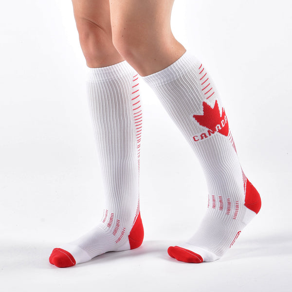 Canada Edition Compression Socks