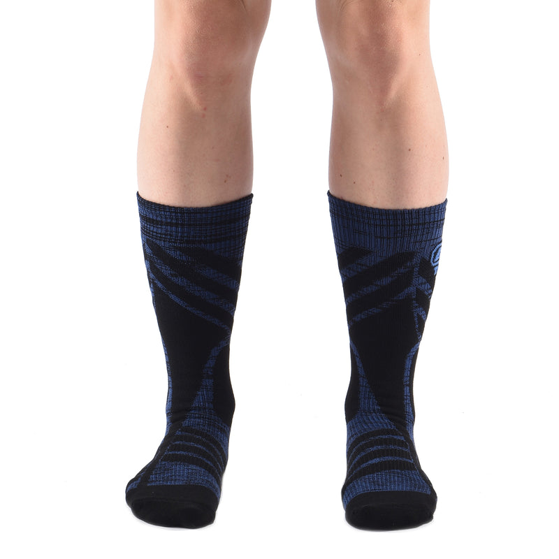 Crew Twist Compression Socks