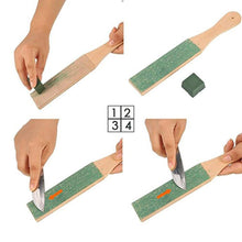 Load image into Gallery viewer, Pro Knife™ Leather Strop And Polishing Paste