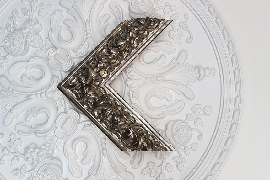 Chunky Spanish Ornate in Silver from our Graphics 80 collection