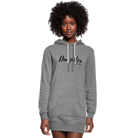 Daughter of The King Hoodie Dress - heather gray