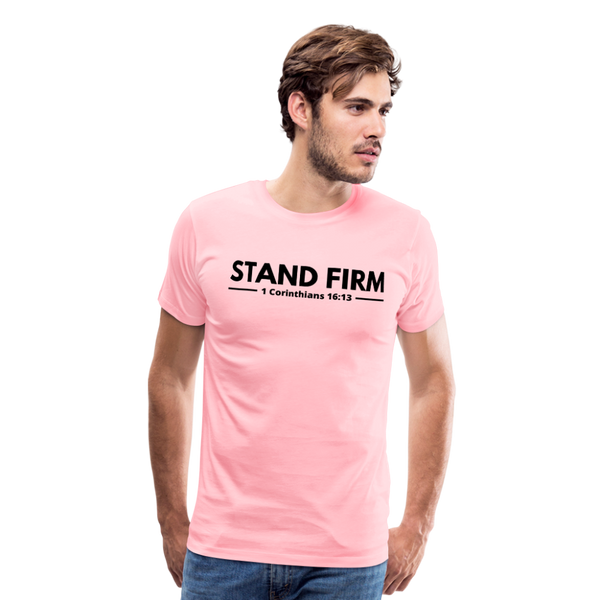 Men's Stand Firm Premium Shirt - pink