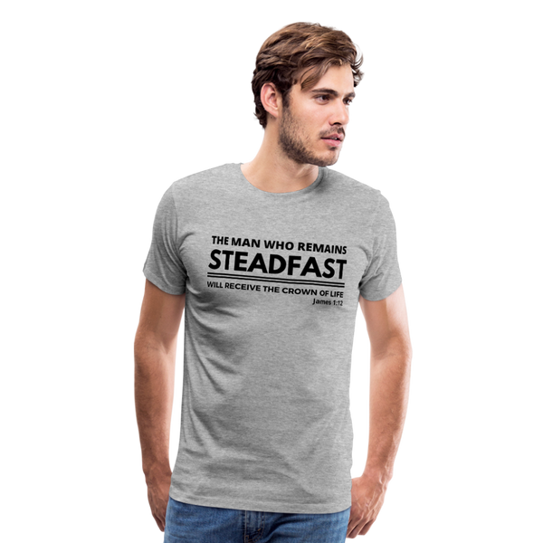 Men's Steadfast Premium Shirt - heather gray