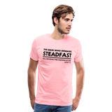 Men's Steadfast Premium Shirt - pink