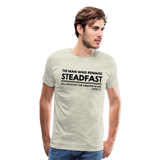 Men's Steadfast Premium Shirt - heather oatmeal