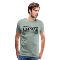 Men's Steadfast Premium Shirt - steel green