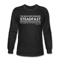 Men's Steadfast Long Sleeve Tee - black