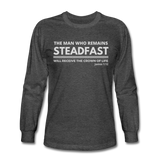 Men's Steadfast Long Sleeve Tee - heather black