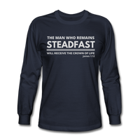 Men's Steadfast Long Sleeve Tee - navy