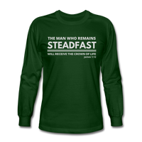 Men's Steadfast Long Sleeve Tee - forest green