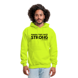 Men's Finish The Race Hoodie - safety green