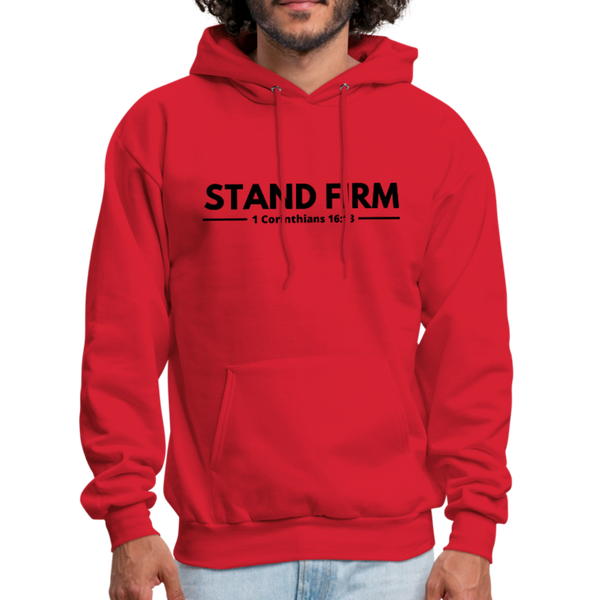 Men's Stand Firm Hoodie - red