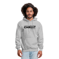 Men's All Things Through Christ Hoodie - heather gray