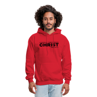 Men's All Things Through Christ Hoodie - red