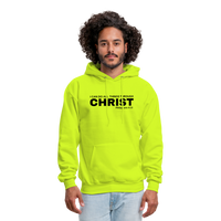 Men's All Things Through Christ Hoodie - safety green