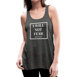 I Will Not Fear Tank - deep heather