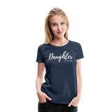 Daughter of The King Premium Tee - navy