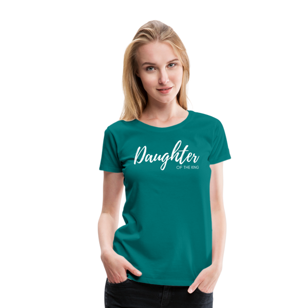 Daughter of The King Premium Tee - teal