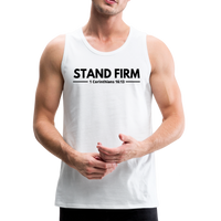 Men's Stand Firm Tank - white