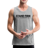 Men's Stand Firm Tank - heather gray