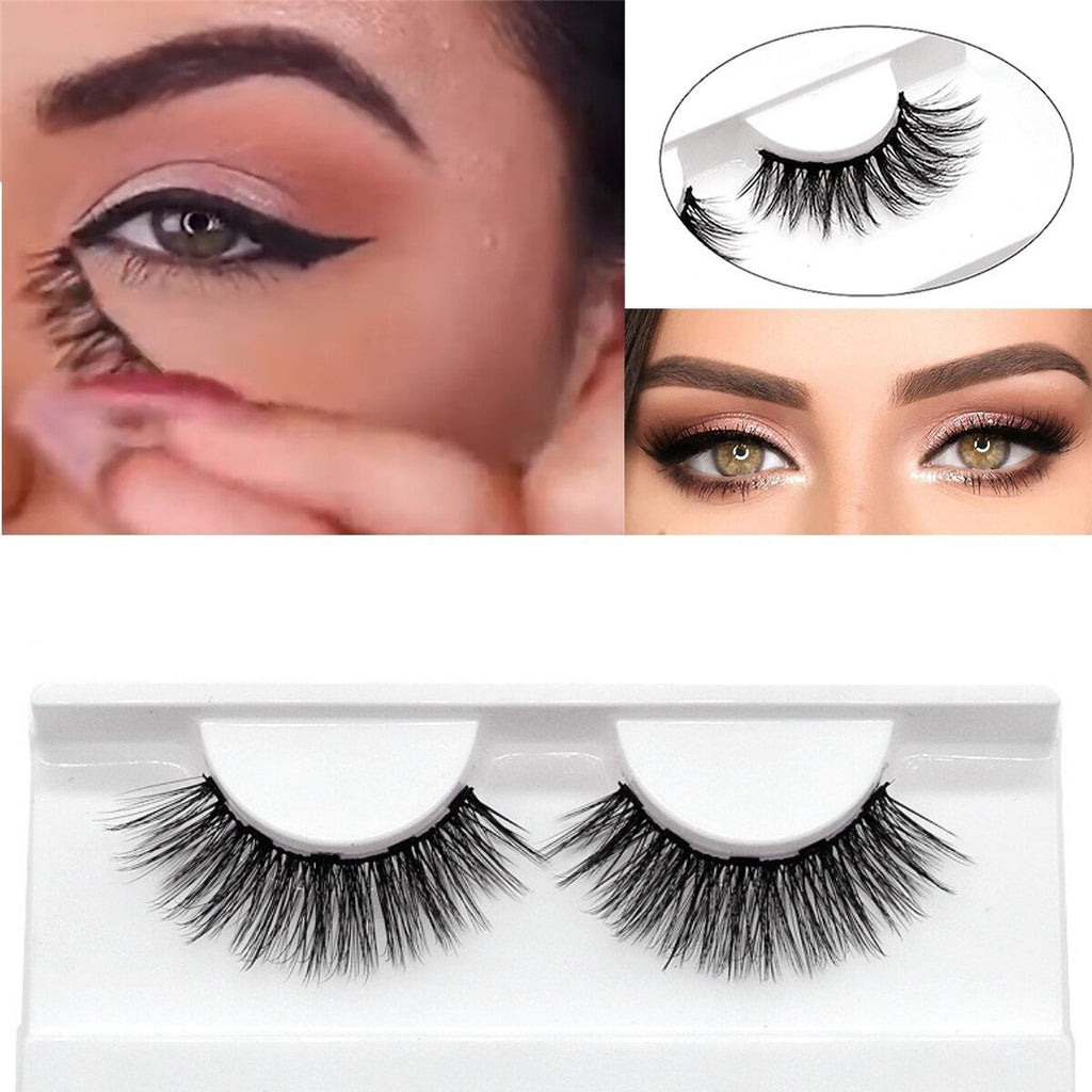 3 pairs Natural Magnetic Eyeliner Lashes