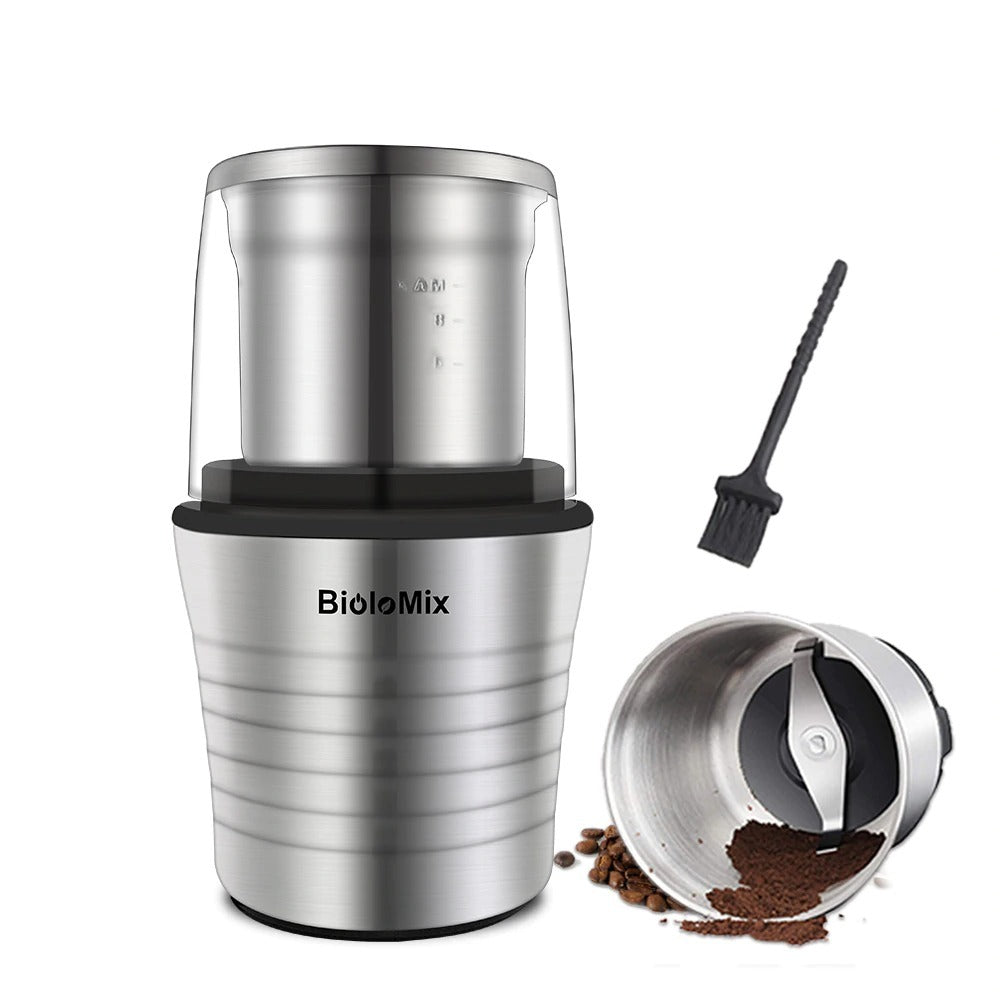 2-in-1 Wet and Dry Double Cups Wet Grinder