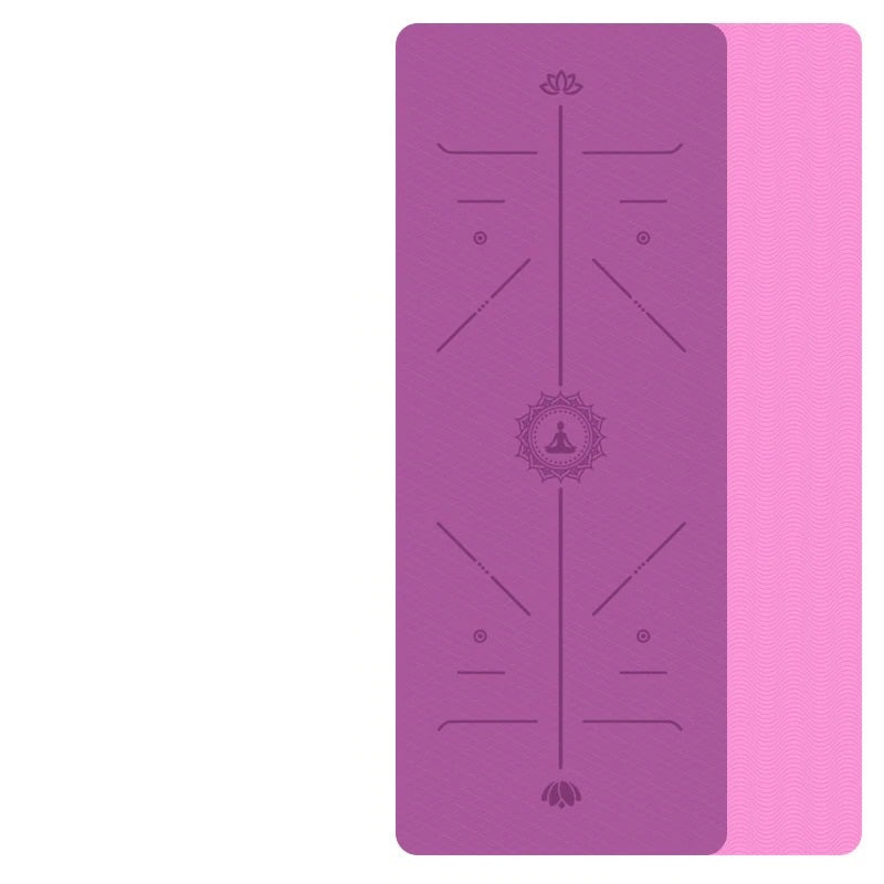 Non Slip Double sided Eco Yoga Mat