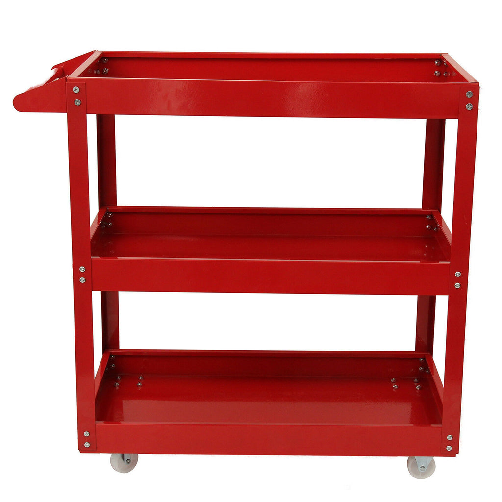 3 Level 4 Wheel Trolley Cart