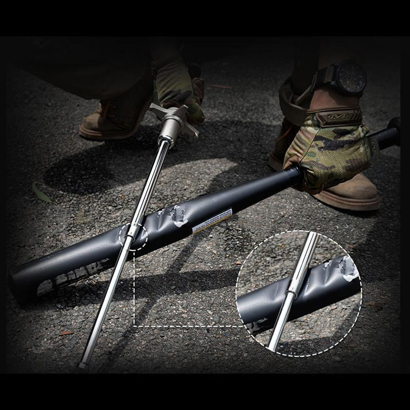 Retractable Self Defense Telescopic Crowbar
