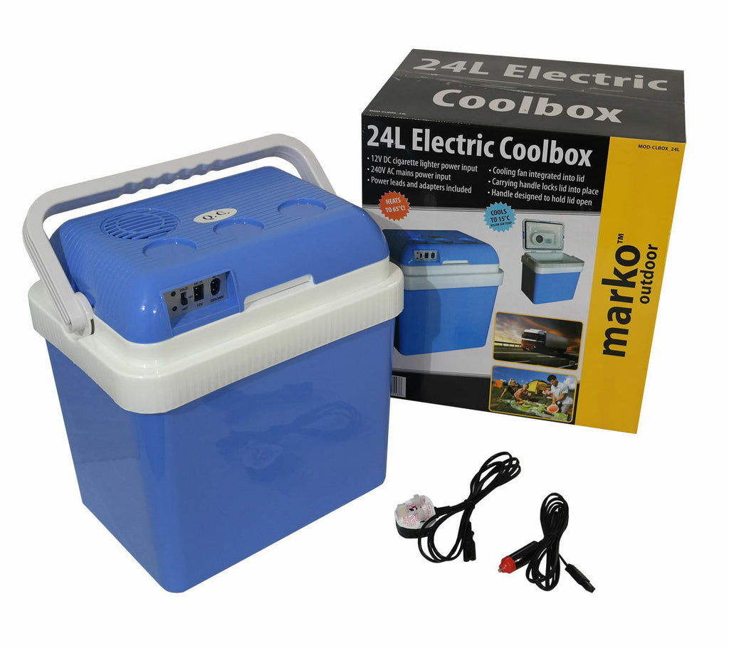 24L Portable Electric Cool box and cooler