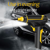 Image of 120W Car Air Compressor Handheld USB Rechargeable Electric Inflator Pump
