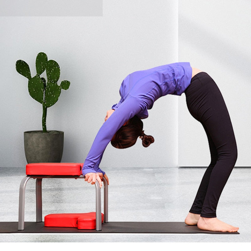 Chair Yoga - Headstand Stool