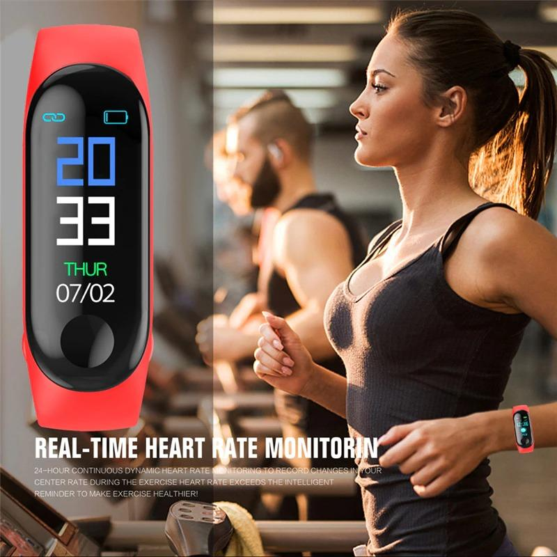 Blood Pressure Watch and Heart Rate Monitor Smart Watch