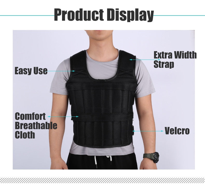 Weght Vest 30Kg - Weighted Vest Workout