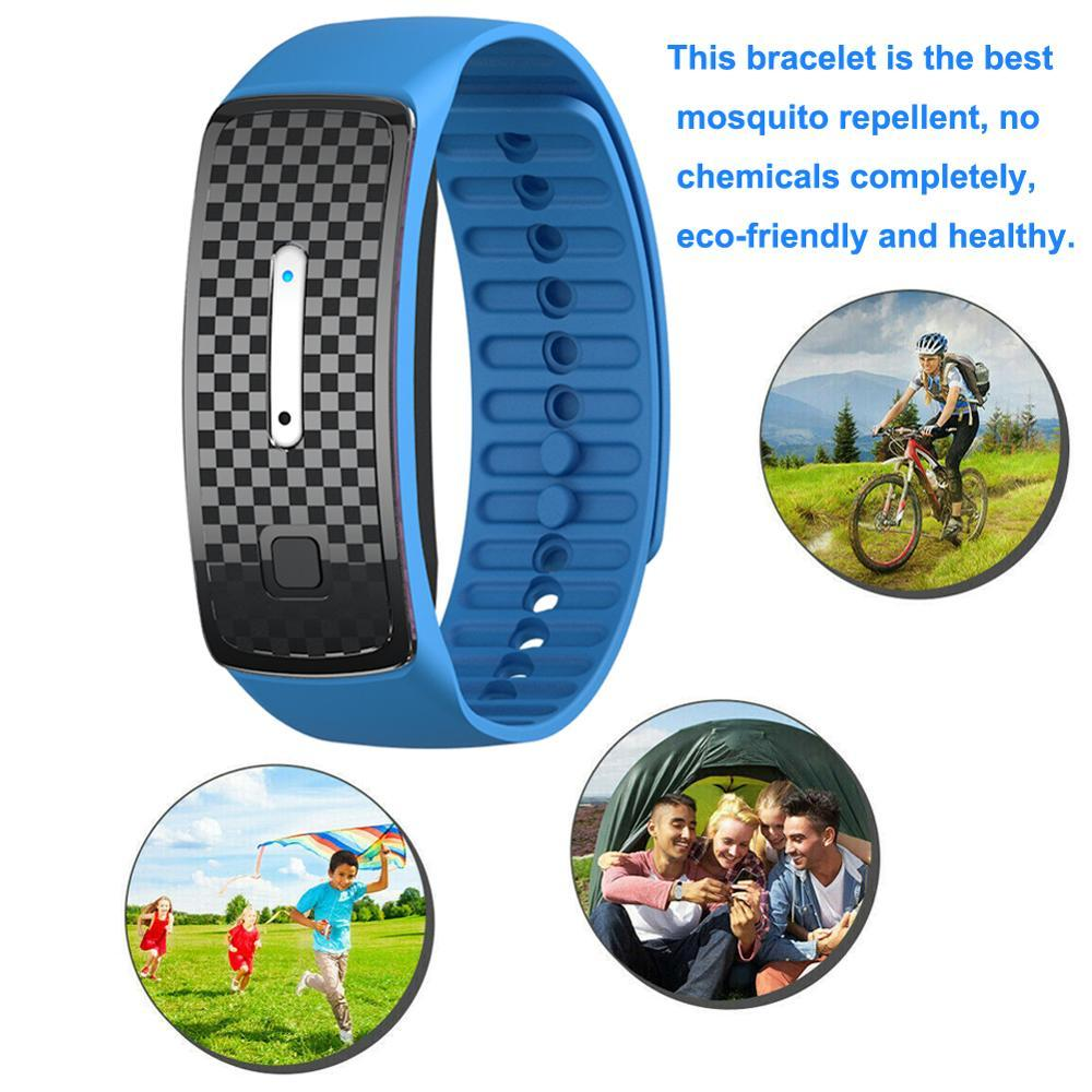 Anti Mosquito Bracelet Ultrasound Bug Repellent Bracelet