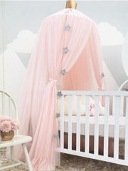 Baby Bed Curtain Round Crib
