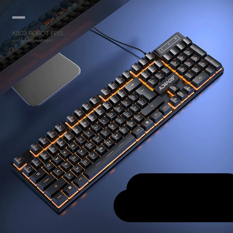 Wired Gaming Mechanical Backlighted Keyboard