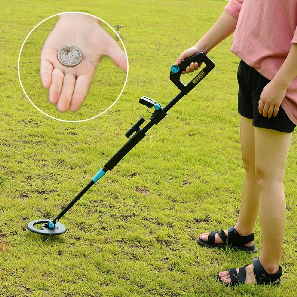 Underground Metal Detector Waterproof Portable Adjustable Length  Metal Detector Gold Hunter