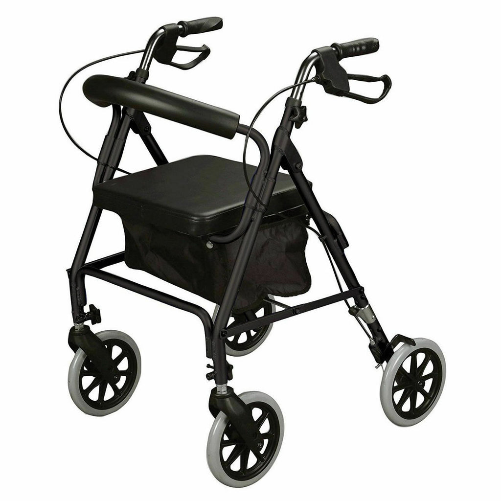 Ultra lightweight rollator mobility walker 4 Wheel + Seat