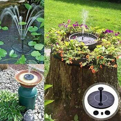 Solar-Powered Easy Bird Fountain Kit