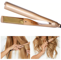 Straightening Curling Iron 2-in-1 l Hair Curler & Straightening