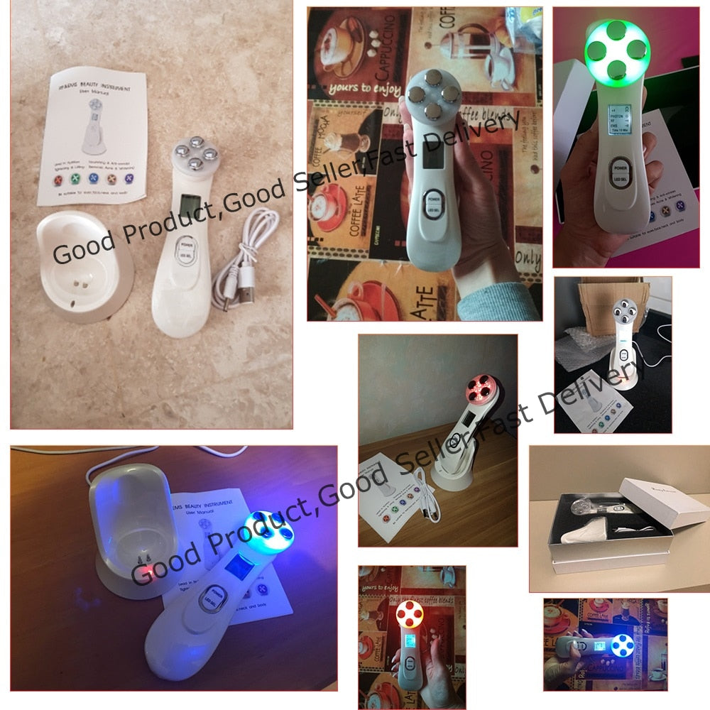 Led Light Therapy Device - Derma Light Skin Therapy