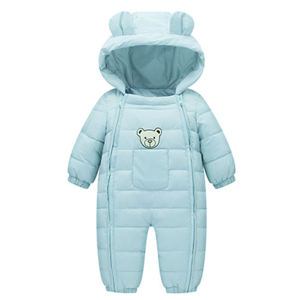 Baby Boy Snowsuit