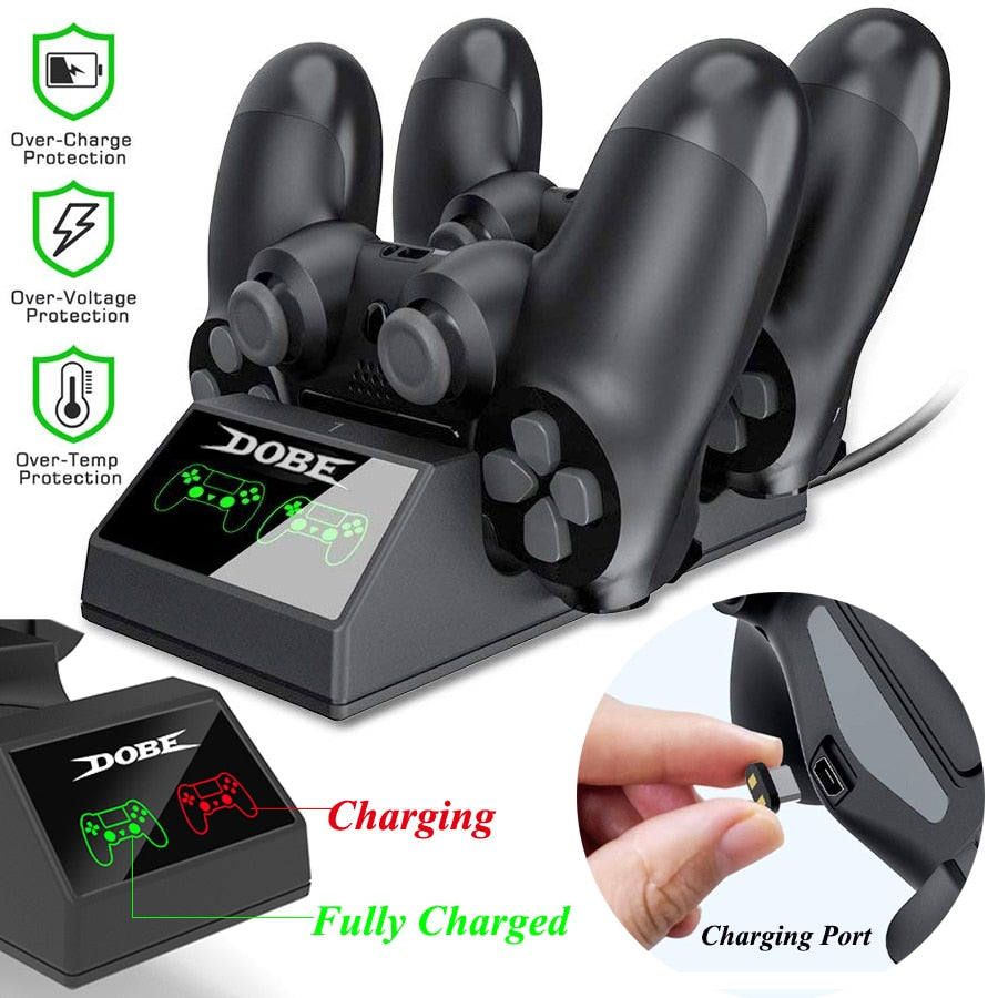 PS4 Charging Dock - Two Controller PS4 Charging Dock