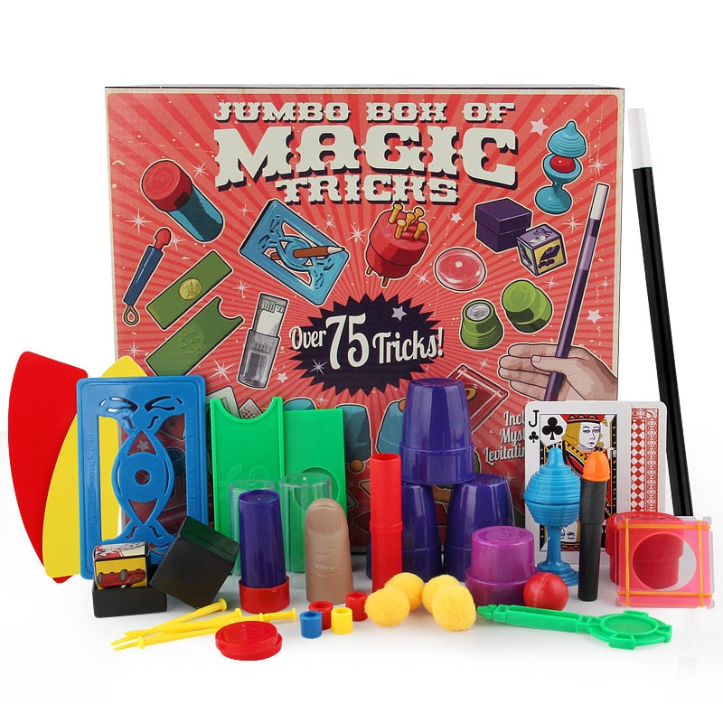 Magic Kit | Kids Magic Set 75 tricks