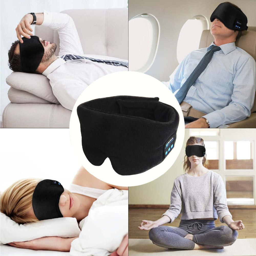 Wireless Call Sleep Headphones | Sleeping Noise Cancelling Headband