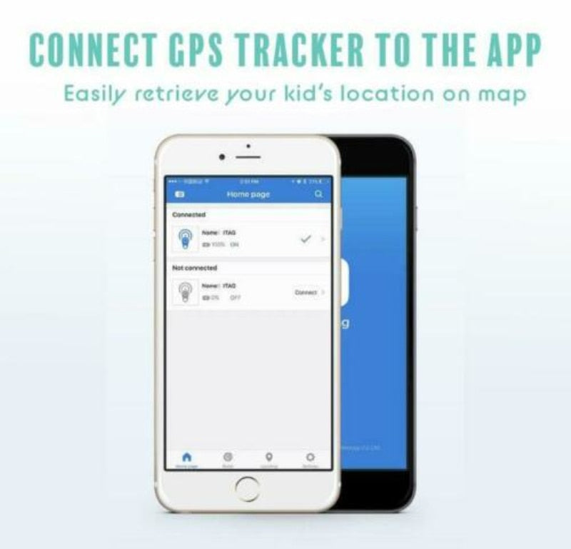 Kid Tracker Mini GPS Tracking Device For Kids GPS Tracker SOS Geo Alarm