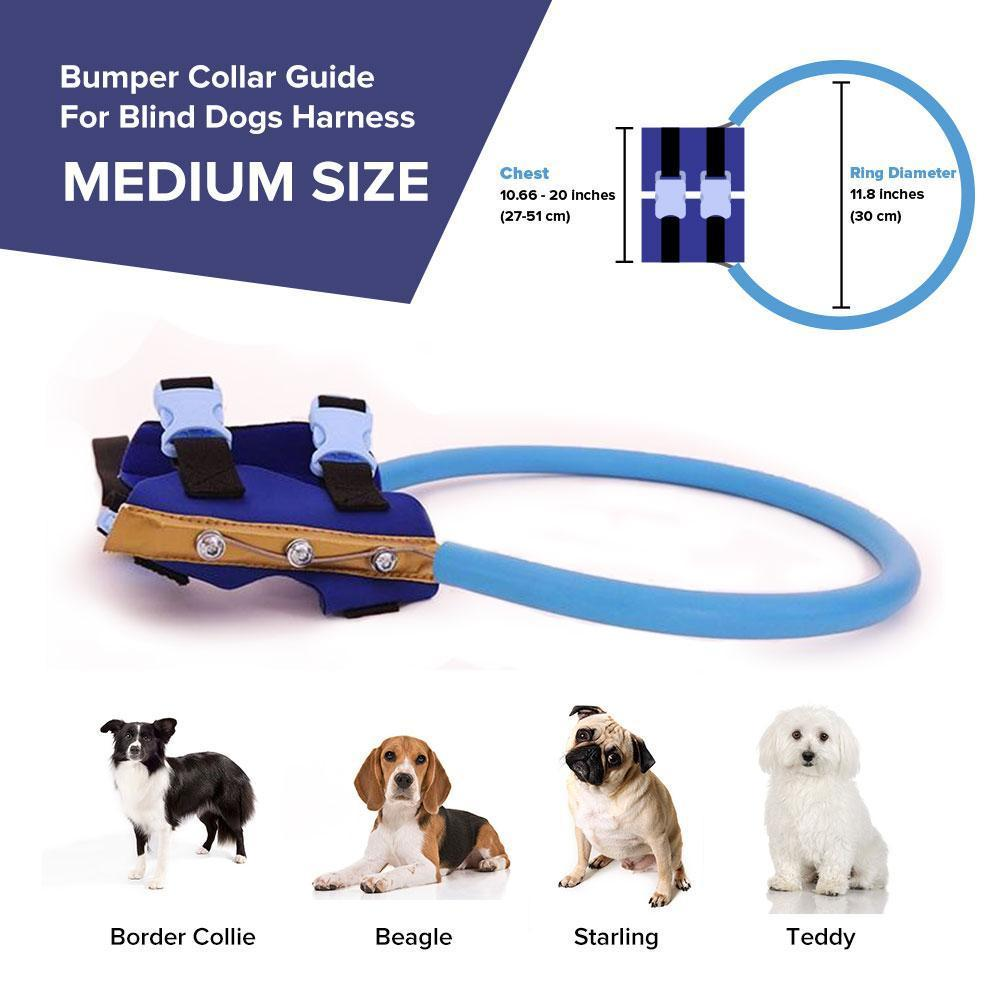 Bumper Collar Guide For Blind Dogs Harness - Balma Home