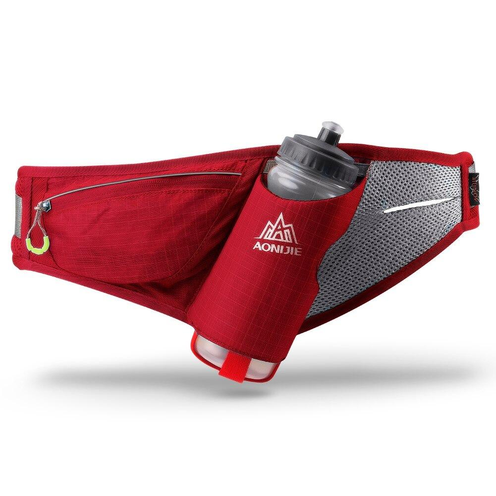 Fanny pack with water bottle holder, Olive