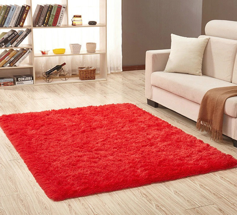 Super Soft Silk Wool Rug